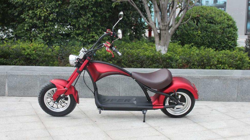 motociclo elettrico, chopper elettrico
