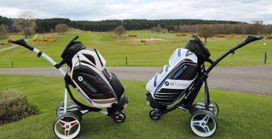 carrello da golf elettrico